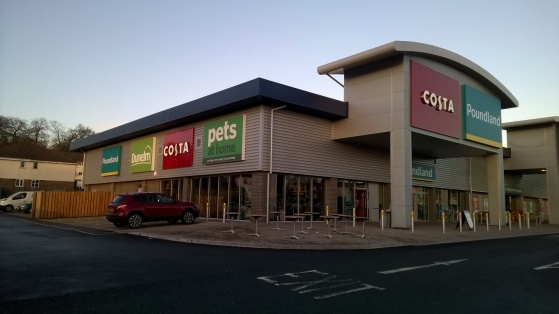 Friary Retail Park, Plymouth